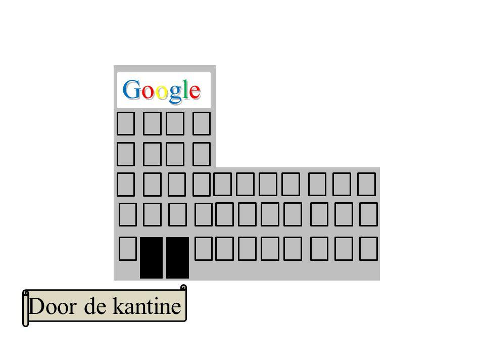 Google GoogleGoogle Door de kantine