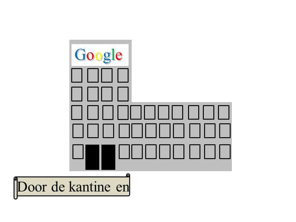 Google GoogleGoogle Door de kantine en