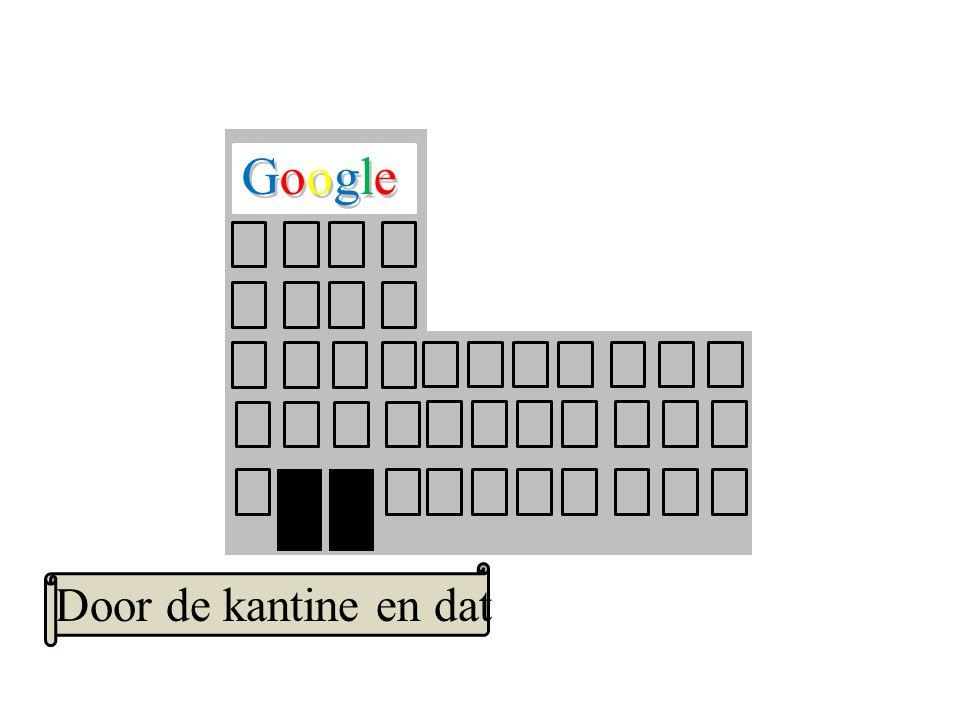 Google GoogleGoogle Door de kantine en dat