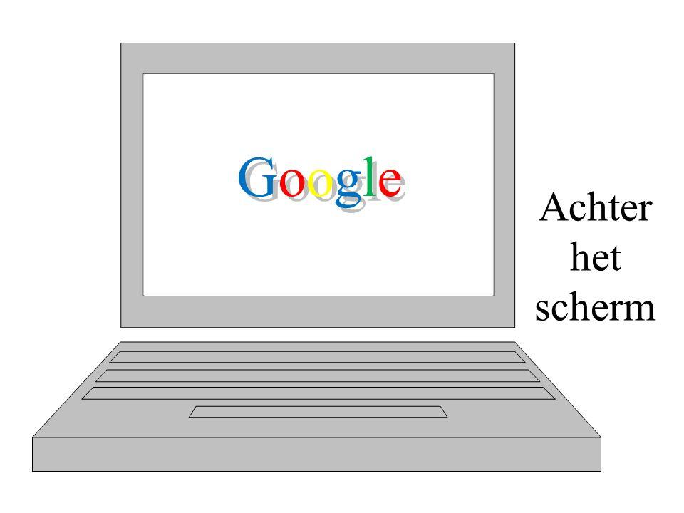 GoogleGoogle Achter het scherm