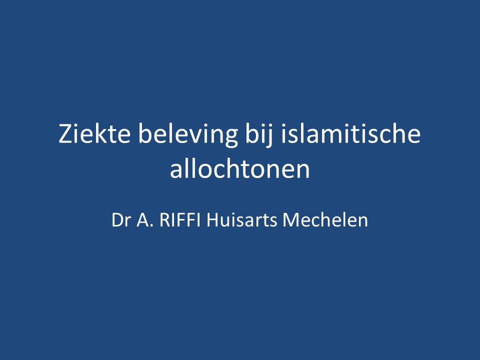 overlijden Dikwijls veel bezoek van rouwenden Rituele wassing,snelle repatriering De dood is in de Islam geen eindpunt.