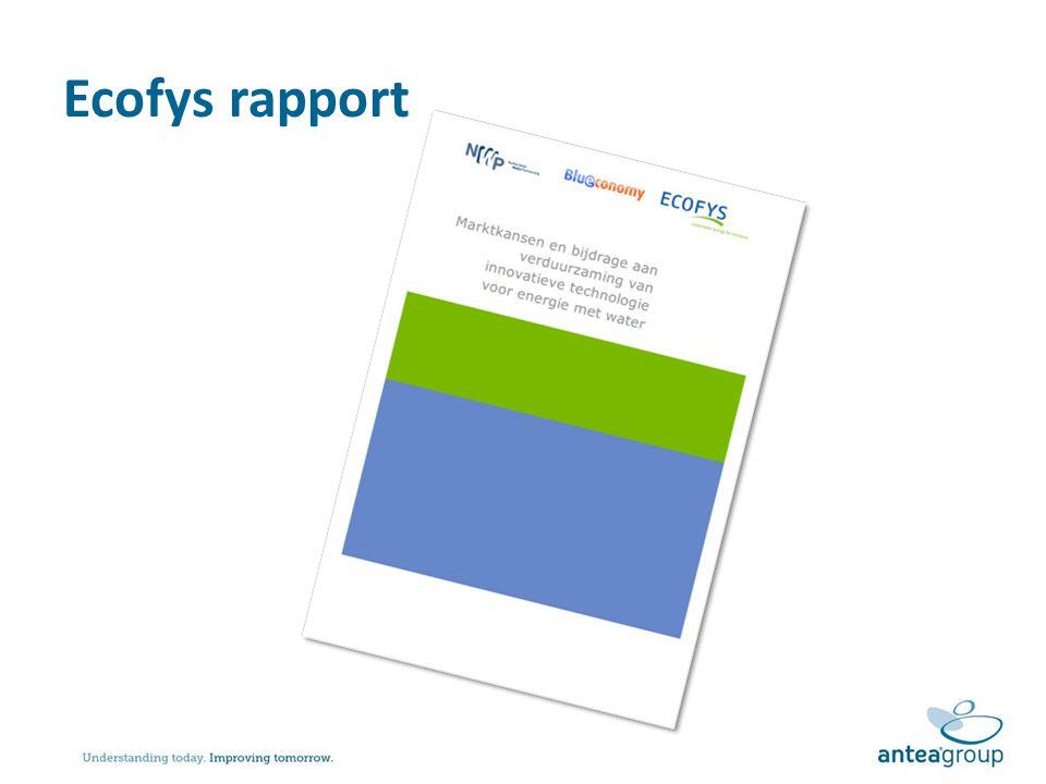 Ecofys rapport