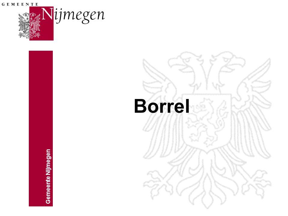 Gemeente Nijmegen Borrel