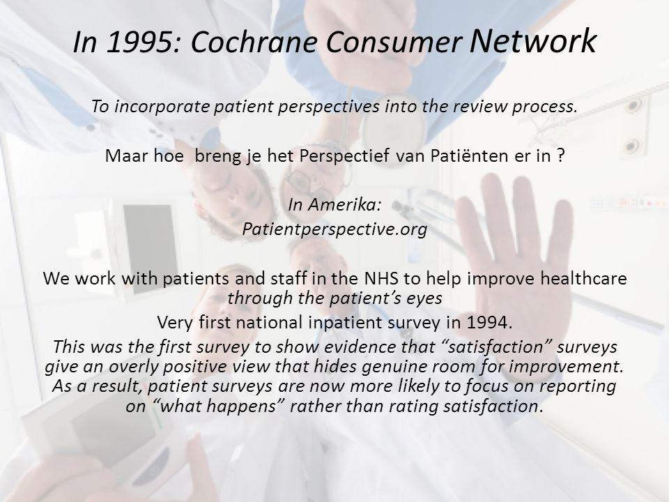 Evidence Based, meer dan RCT's .Surveys revealing genuine room for improvement .