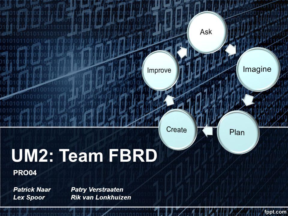 UM2: Team FBRD PRO04 Patrick NaarPatry Verstraaten Lex SpoorRik van Lonkhuizen
