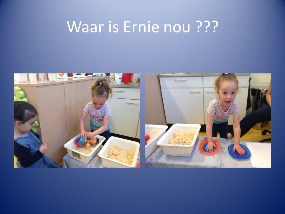 Waar is Ernie nou