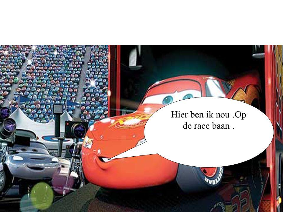 Klaar voor de super race.En start!!!