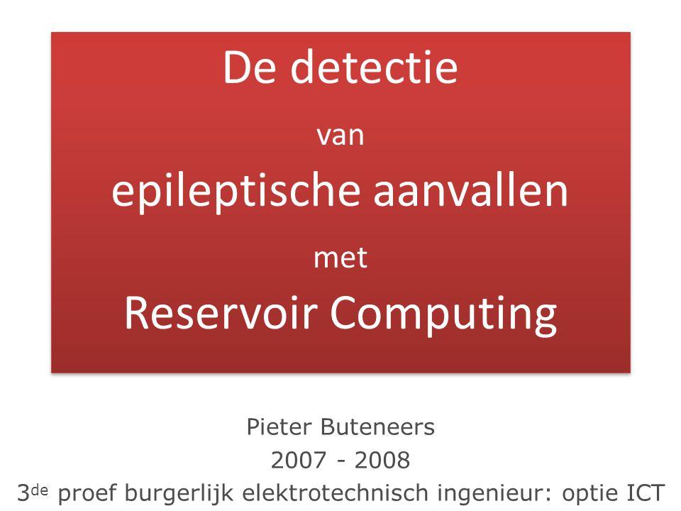 Pieter Buteneers 2007 - 2008 3 de proef burgerlijk elektrotechnisch ingenieur: optie ICT