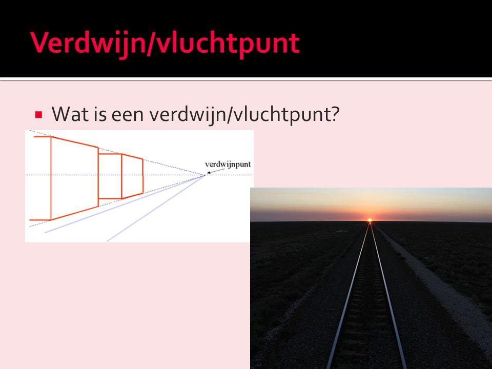  Wat is de horizon in het perspectief?
