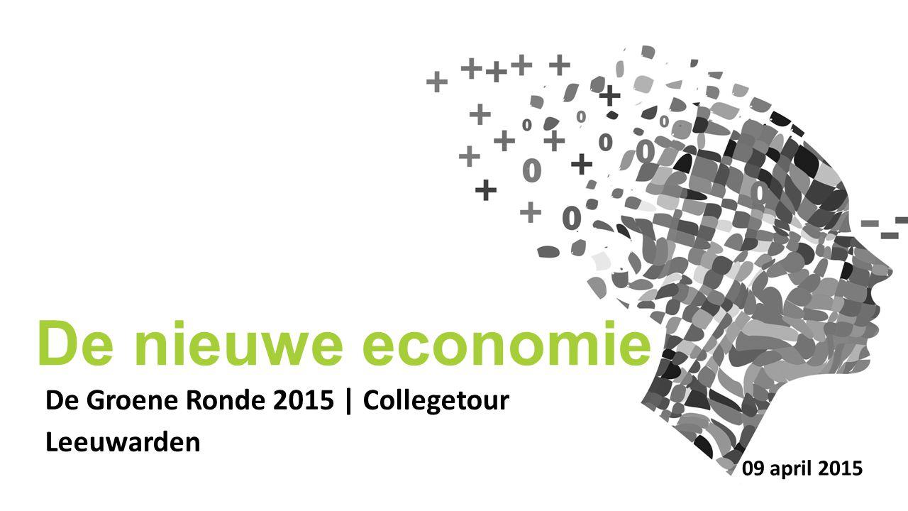 De Groene Ronde 2015 | Collegetour Leeuwarden De nieuwe economie 09 april 2015