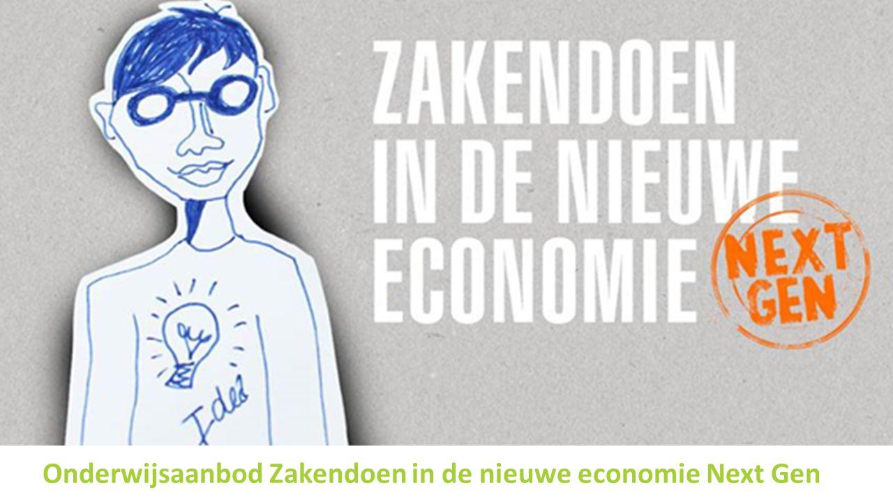 Onderwijsaanbod Zakendoen in de nieuwe economie Next Gen
