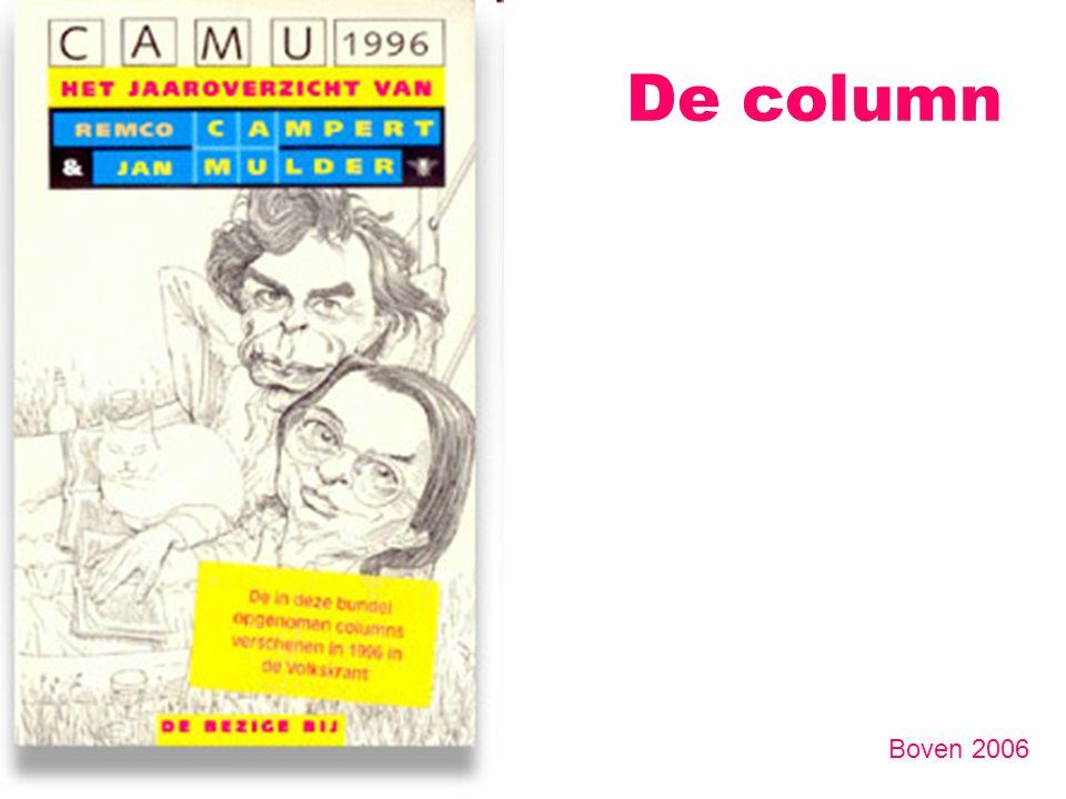 De column Boven 2006