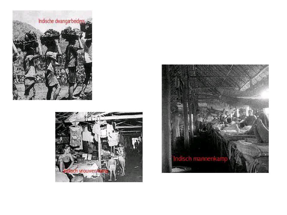 Gebruik nationalisten Teneinde de bevolking te mobiliseren gebruikten de Japanners de nationalistische beweging –PNI mocht anti-Nederlandse propaganda maken –Oprichting paramilitaire organisatie 2½ jongeren waren lid, nauwelijks bewapend, wel militair getraind en antiwesters gehersenspoeld