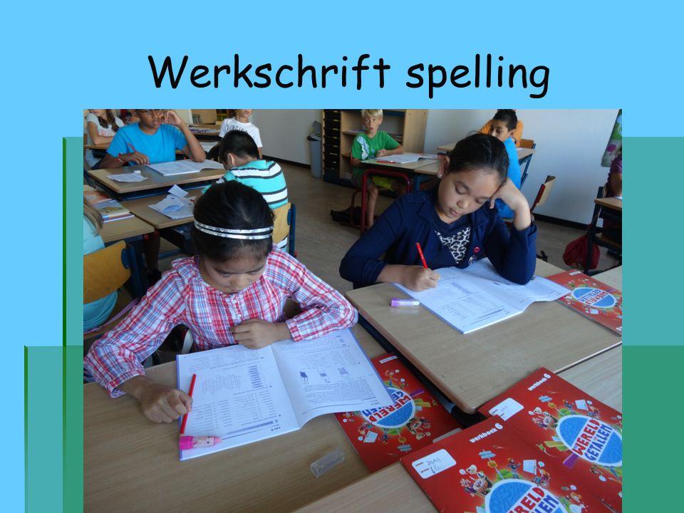Werkschrift spelling