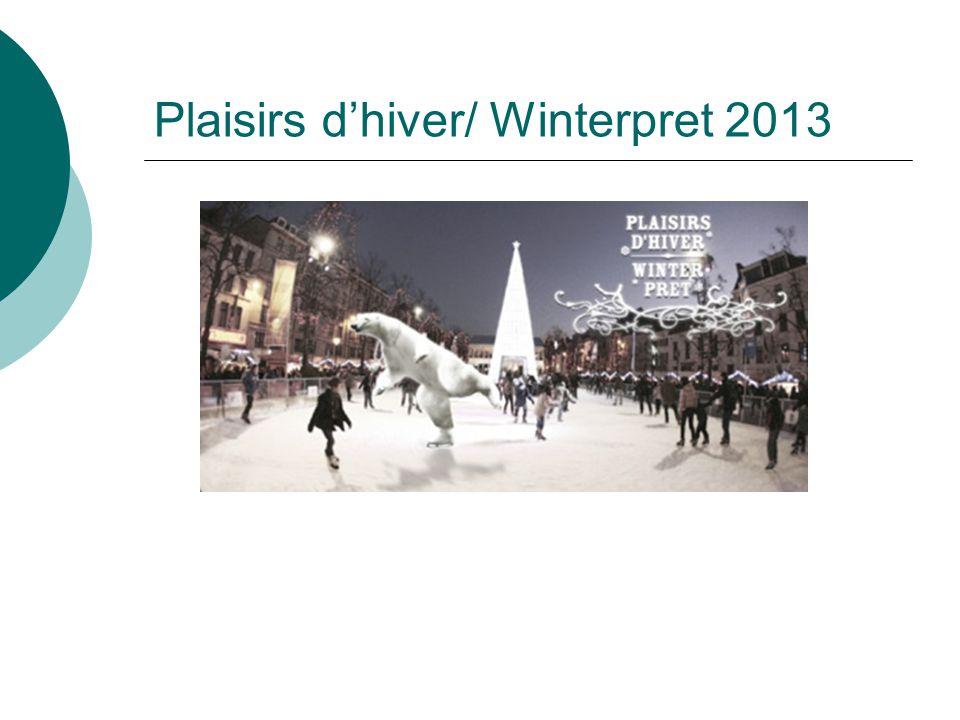 Plaisirs d'hiver/ Winterpret 2013