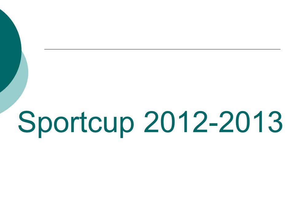 Sportcup 2012-2013