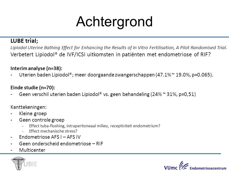 Trial on Uterine Bathing before IVF/ICSI in Patients with Mild Endometriosis