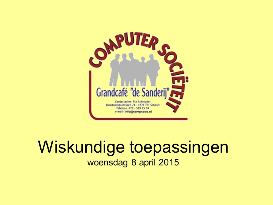 Wiskundige toepassingen Wiskundige simulatiesoftware https://phet.colorado.edu/nl/simulations/category/math