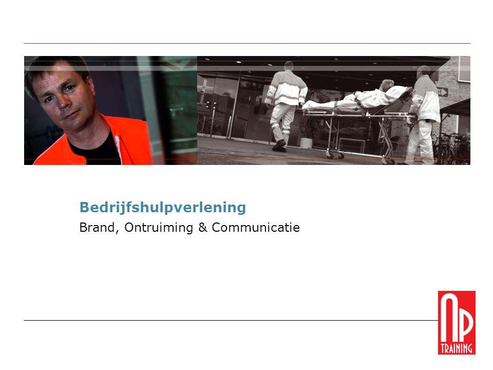 Bedrijfshulpverlening Brand, Ontruiming & Communicatie
