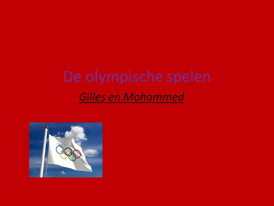 De olympische spelen Gilles en Mohammed
