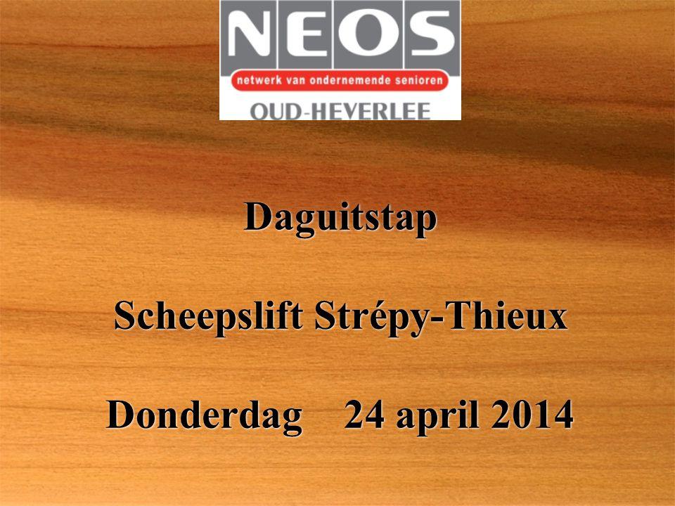 Daguitstap Scheepslift Strépy-Thieux Donderdag 24 april 2014