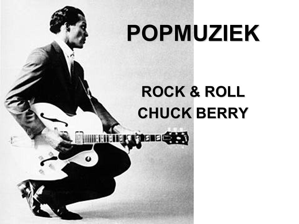 ONTSTAAN ROCK & ROLL Ontstaan Rock & Roll ontstaat in het midden van de jaren vijftig in Amerika uit het samensmelten van blanke Country & Western en zwarte Rhythm & Blues (R&B) Vergelijking ritme eenvoudige teksten -Voorloper van Country & Western (Hillbilly) The Carter Sisters, My Baby Don't Love Me No More http://www.youtube.com/watch?v=WcTr2aKVY54 -Rock & Roll Rock & Roll, Chuck Berry, Maybellene (1965) http://www.youtube.com/watch?v=sGgObQR_a9c
