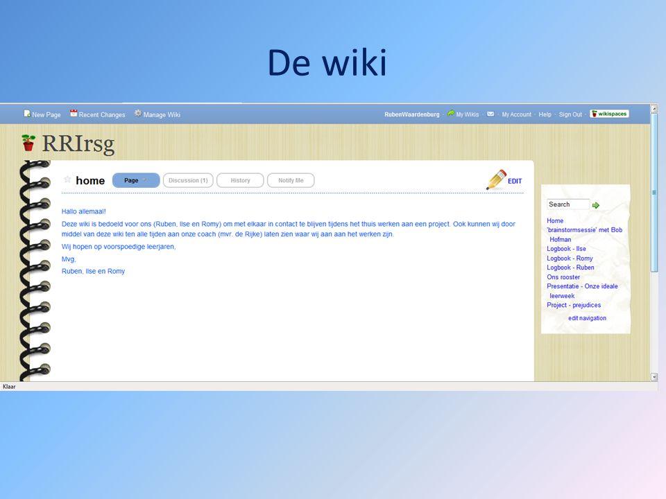 De wiki