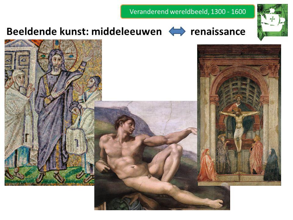 Beeldende kunst: middeleeuwen renaissance