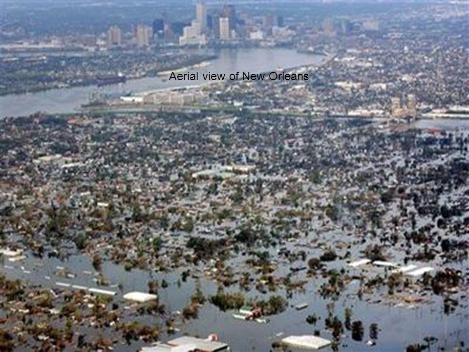 Health & Comfort September 9, 2005JEMH van Bronswijk, TU/e, Eindhoven 28 Aerial view of New Orleans