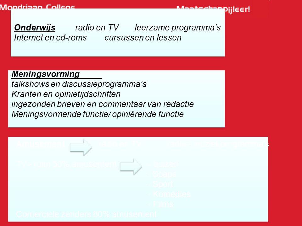 Onderwijs radio en TV leerzame programma's Internet en cd-roms cursussen en lessen Onderwijs radio en TV leerzame programma's Internet en cd-roms curs