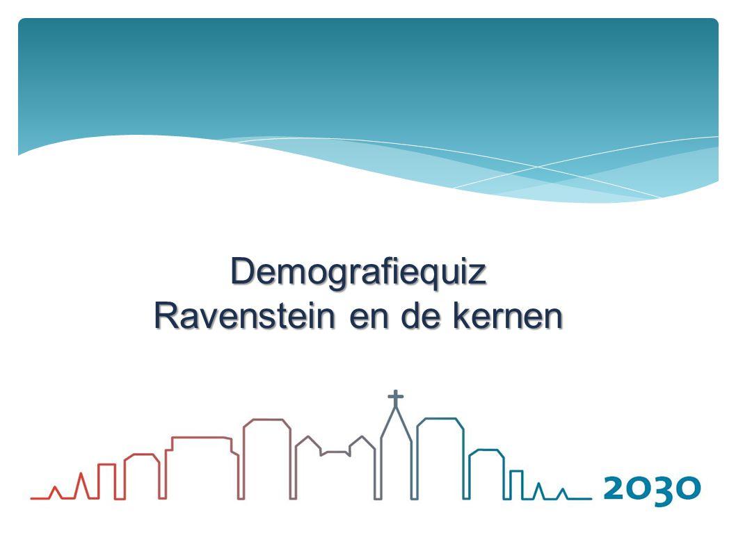 Demografiequiz Ravenstein en de kernen