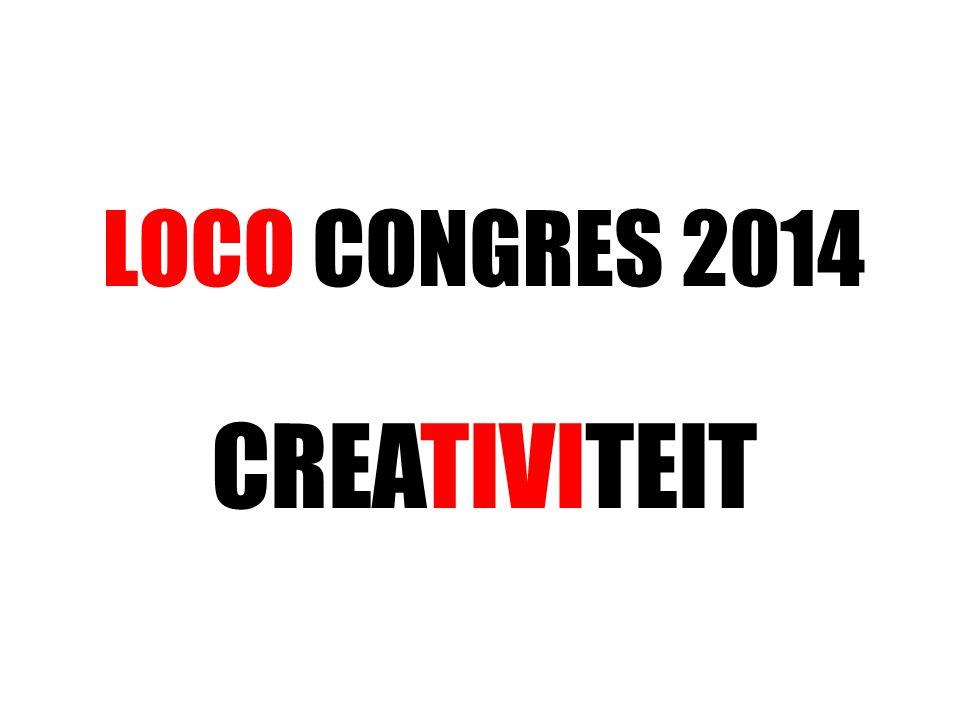 LOCO CONGRES 2014 CREATIVITEIT