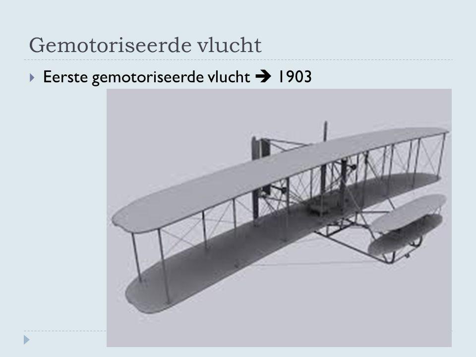 Gemotoriseerde vlucht  Eerste gemotoriseerde vlucht  1903