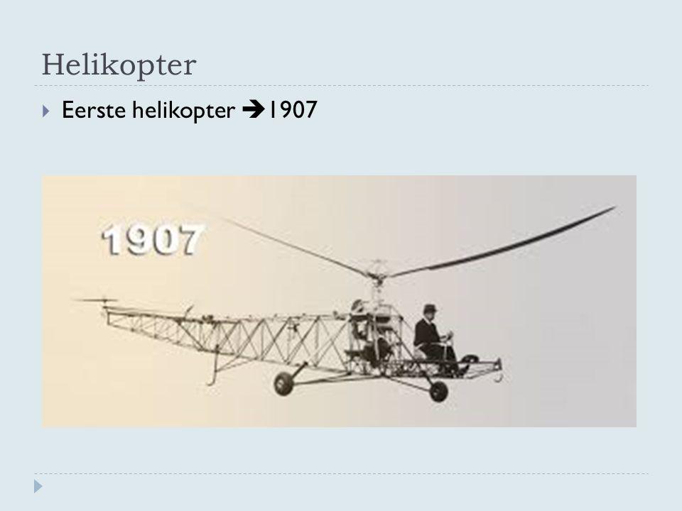 Helikopter  Eerste helikopter  1907