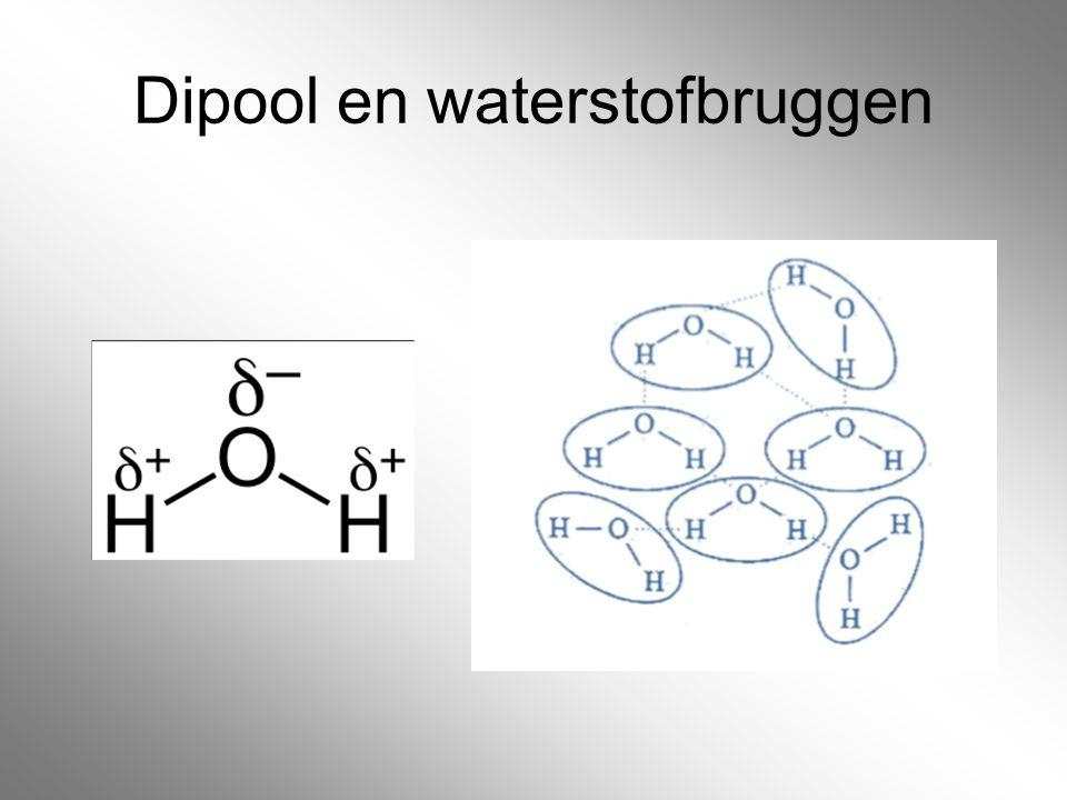 Dipool en waterstofbruggen