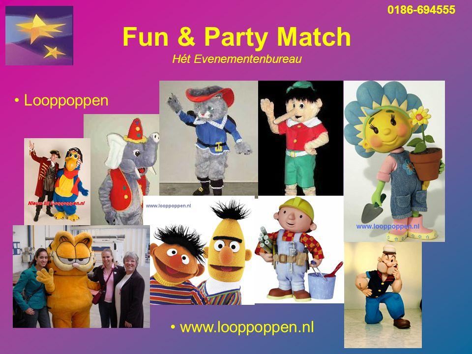 Fun & Party Match Hét Evenementenbureau Look a Likes 0186-694555