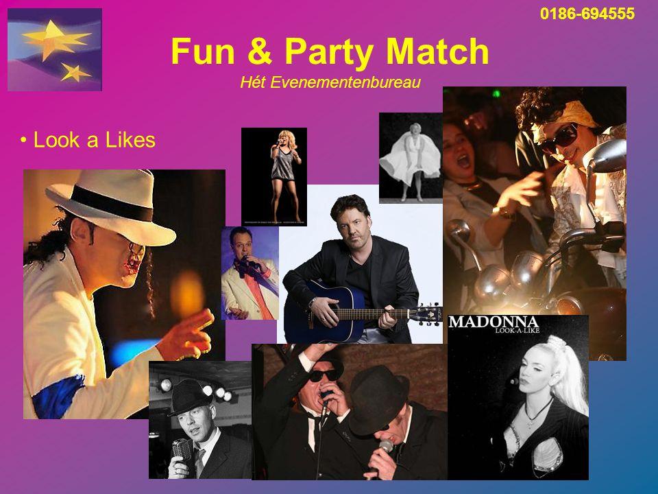 Fun & Party Match Hét Evenementenbureau Bedrijfsfeesten - organisatie van A t/m Z 0186-694555