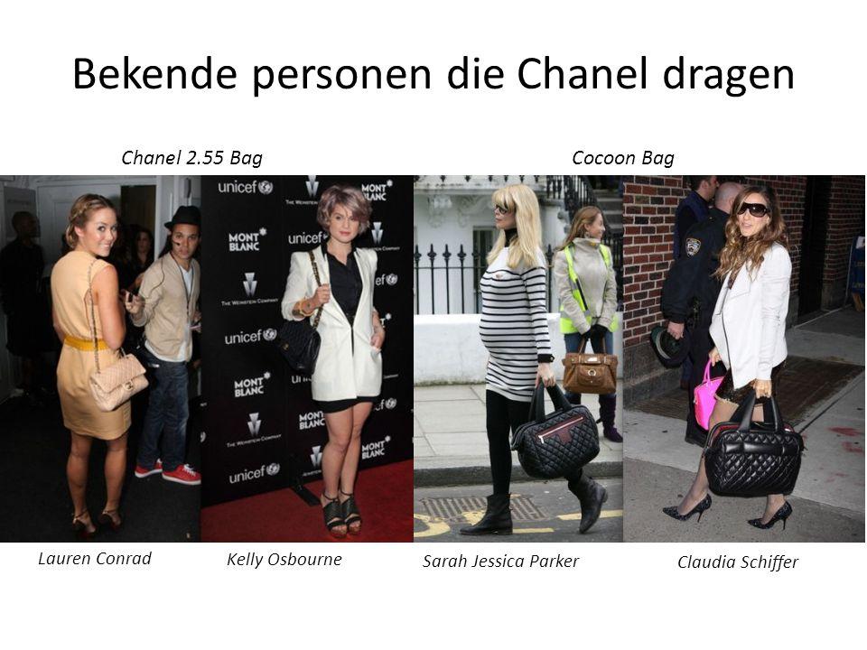 Bekende personen die Chanel dragen Lauren Conrad Kelly Osbourne Chanel 2.55 Bag Sarah Jessica Parker Claudia Schiffer Cocoon Bag