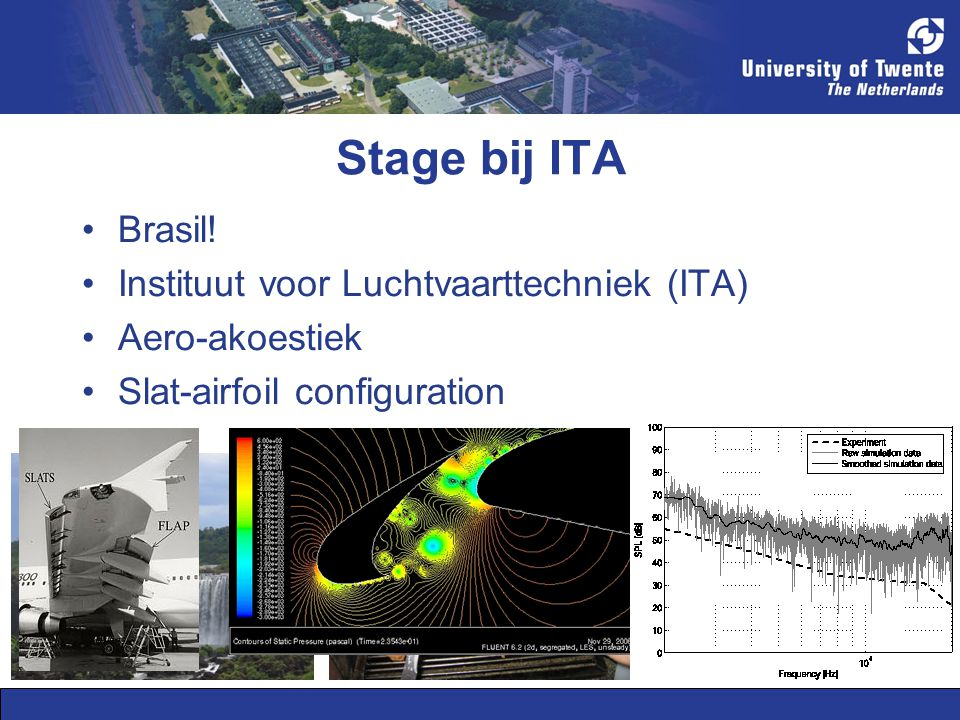 Stage bij ITA Brasil.