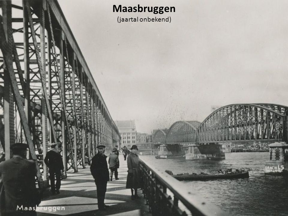 Maasbruggen (jaartal onbekend)