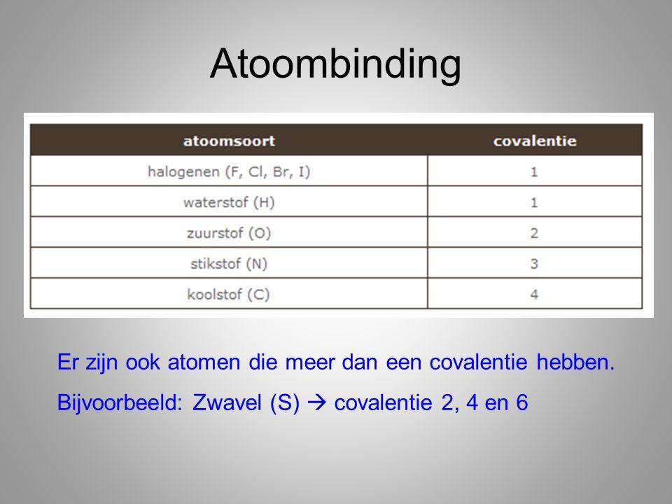 Bijvoorbeeld Cl Atoomnummer 17 Kernlading is dus +17 17 protonen en 17 elektronen Cl kan 1 elektron opnemen 17 P 18 E (+17 -18= -1) Chloride (Cl - ion)