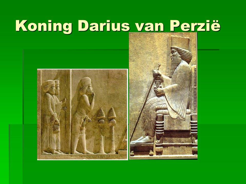 Koning Darius van Perzië