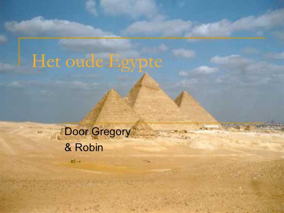 Het oude Egypte Door Gregory & Robin