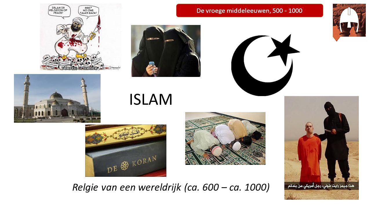 De vroege middeleeuwen, 500 - 1000 Afronding en huiswerk - Lezen pagina 63-64 boek (de definitieve vestiging van de Islam) - Maken vragen 7, 8, 9, 10 en 13
