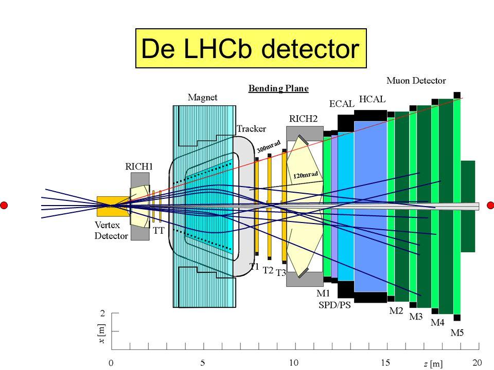 De LHCb detector