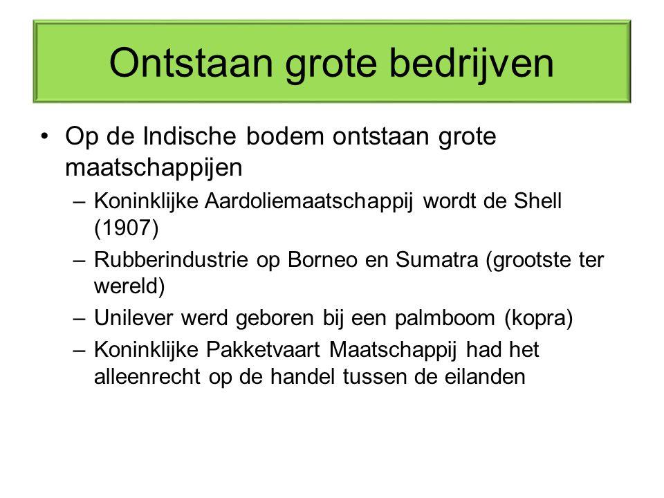 Een zeer Batig Slot Door –De winsten van alle bedrijven –De grondstoffen voor de Nederlandse industrie –Enorm afzetgebied Voor de aldaar aanwezige bedrijven én de bevolking Neerland s kostbaarst sieraad.