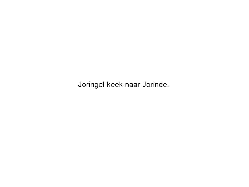 Joringel keek naar Jorinde.