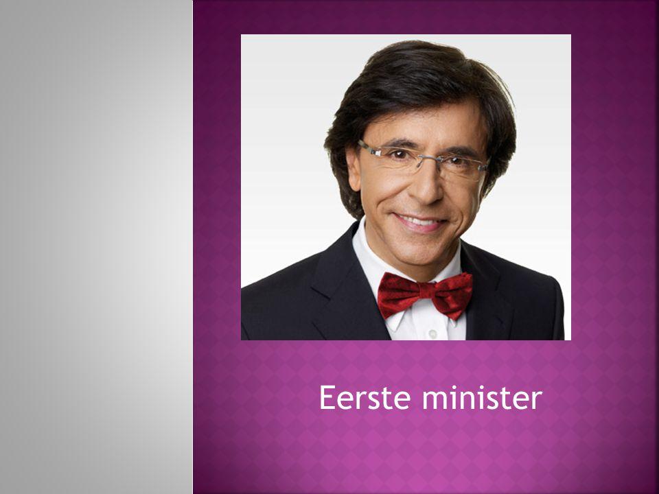 Eerste minister