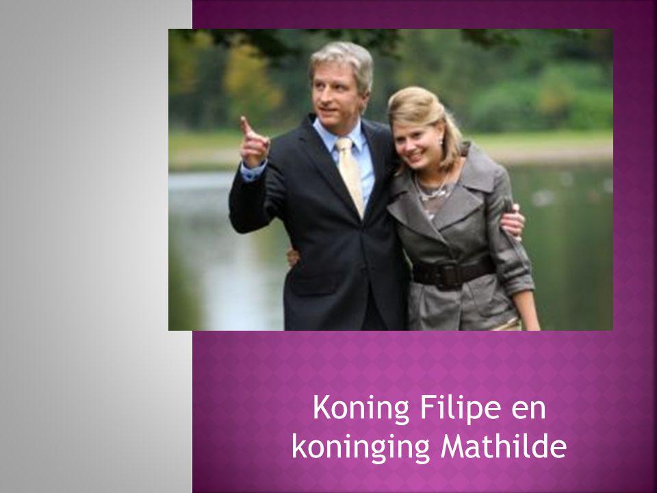 Koning Filipe en koninging Mathilde