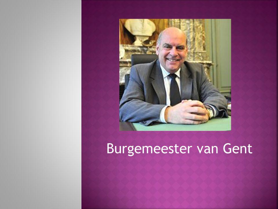 Burgemeester van Gent